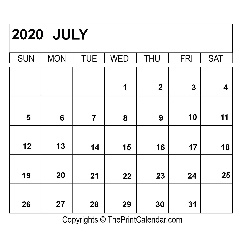 [%July 2020 Printable Calendar Template [Pdf, Word & Excel]|July 2022 Calendar Canada|July 2022 Calendar Canada%]