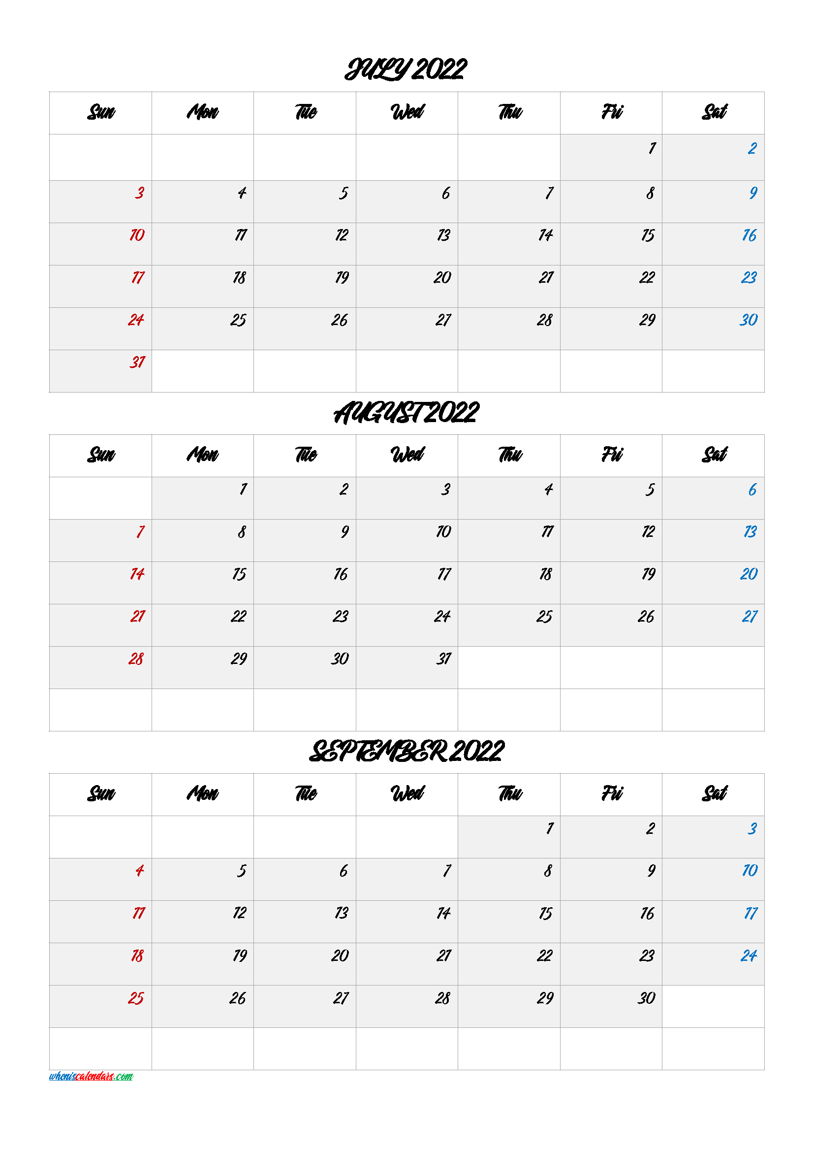 [%July August September 2022 Calendar Printable Free [Q1-Q2|Save The Date Calendar Template 2022 Free|Save The Date Calendar Template 2022 Free%]