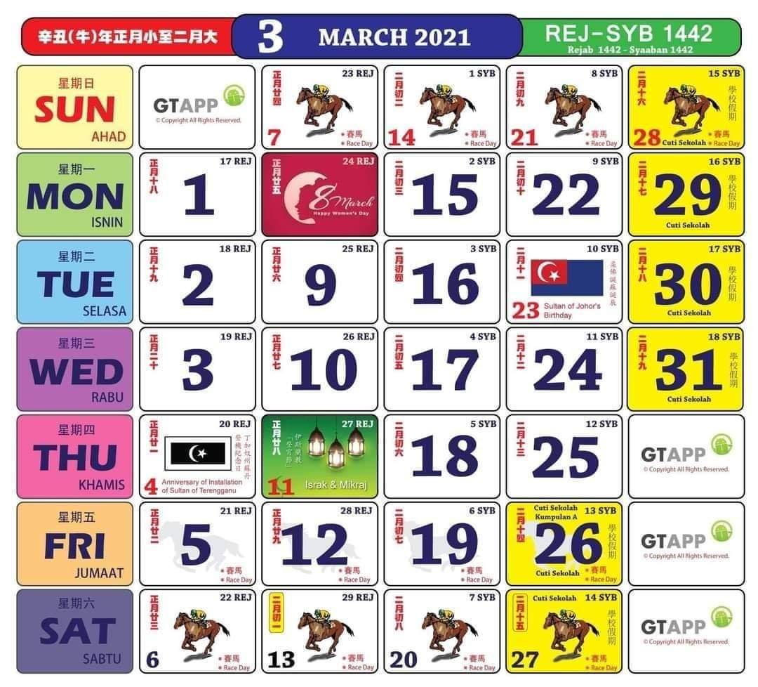 Kalendar 2022 Malaysia Cuti Sekolah