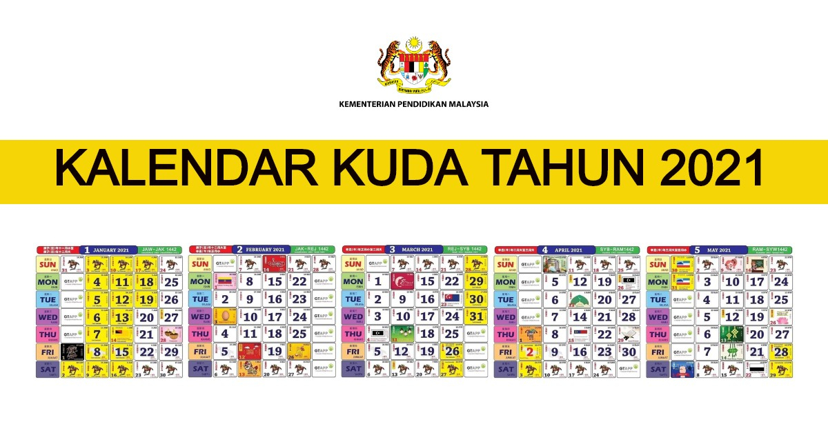 Kalendar Kuda 2021 Malaysia Pdf