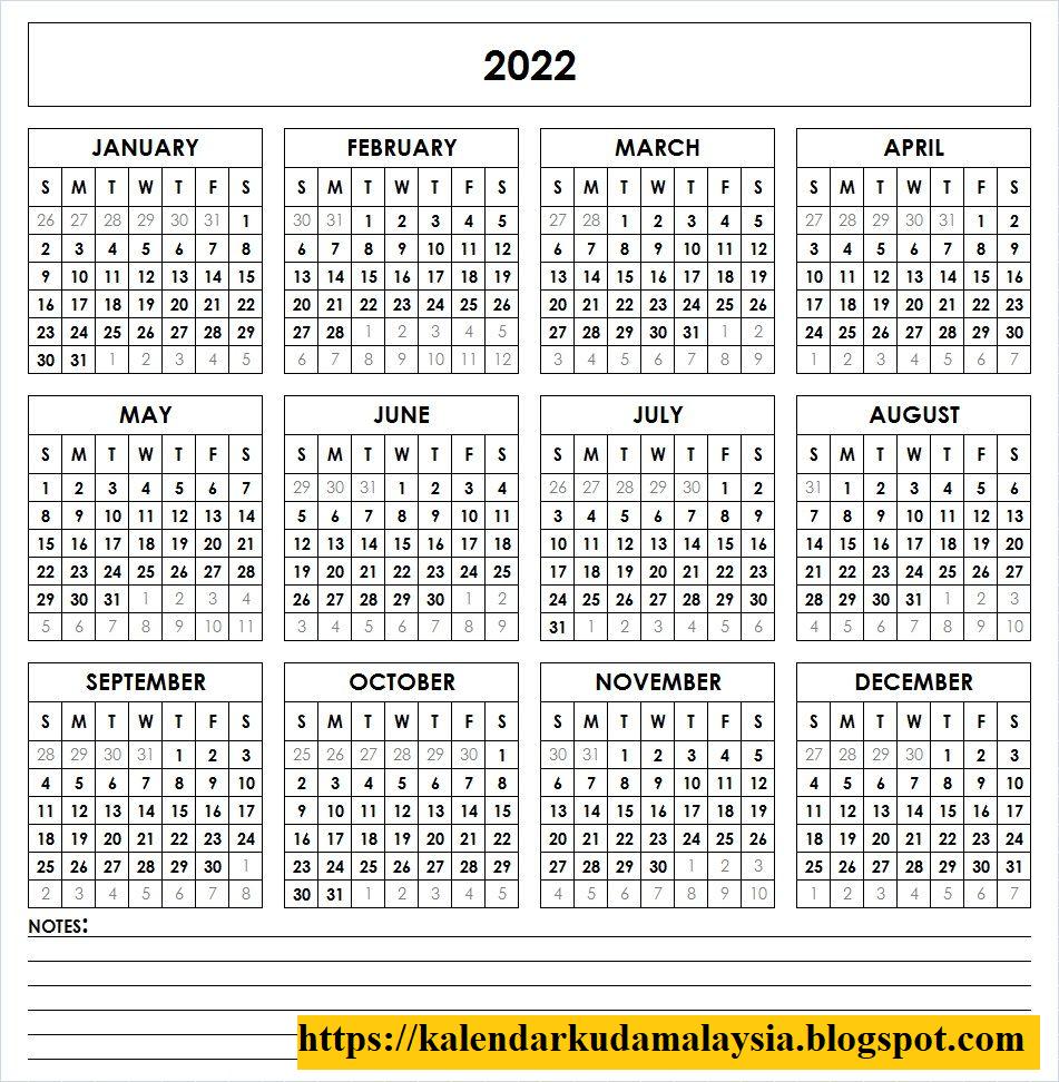 Kalendar Kuda Malaysia Tahun 2022 & 2023