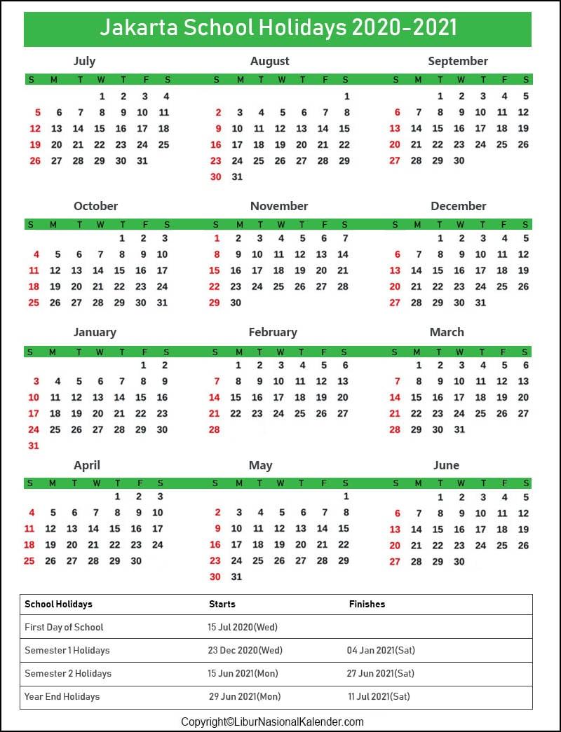 [%School Holidays Jakarta 2020-2021 [Academic Calendar|What Are School Holidays For 2021|What Are School Holidays For 2021%]