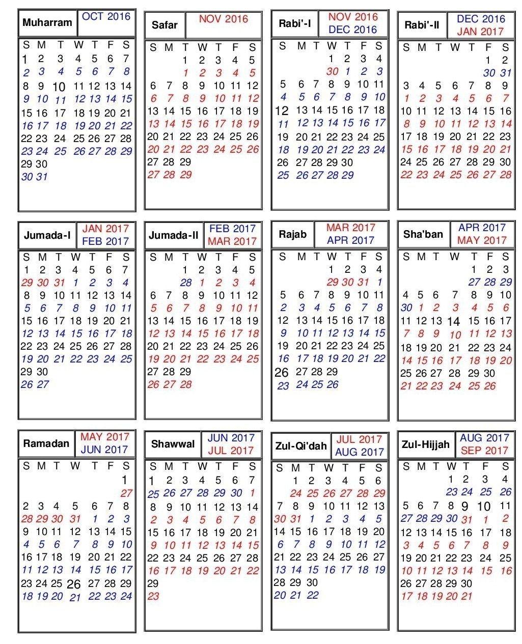 Take September 21 2019 Hijri Calendar Saudi Arabia (With