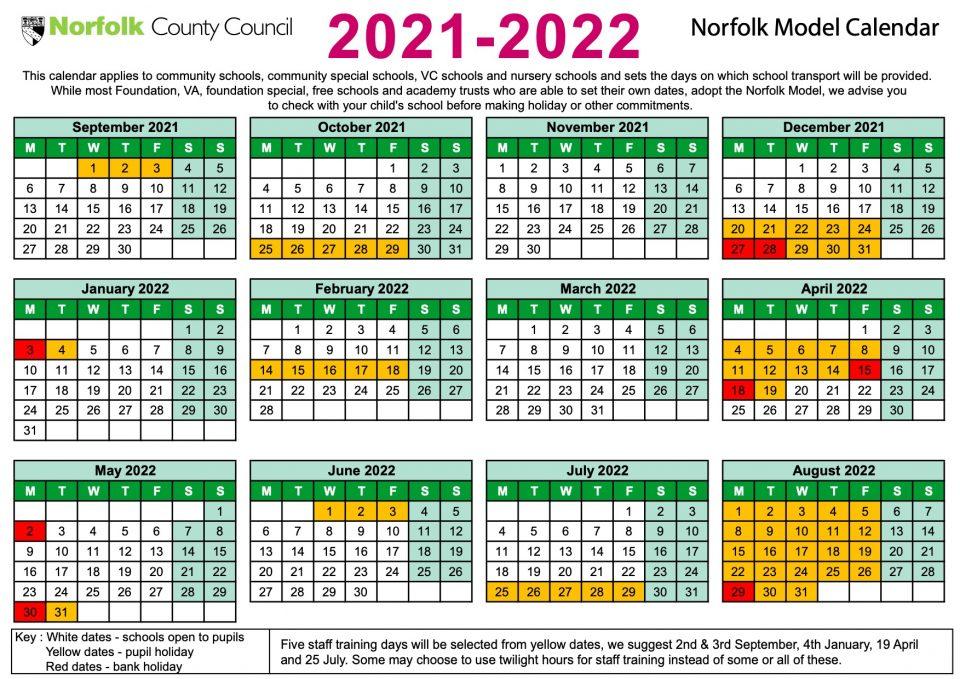 Term Dates - Buxton Primary School