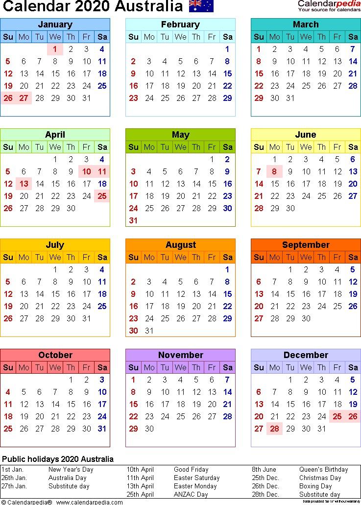Time And Date Calendar 2022 Australia